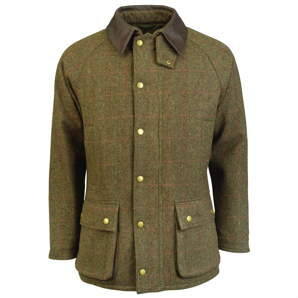 4e7586f51bb Barbour Tweed Gamefair Jacket - Olive - Large • Homeleigh Garden Centres