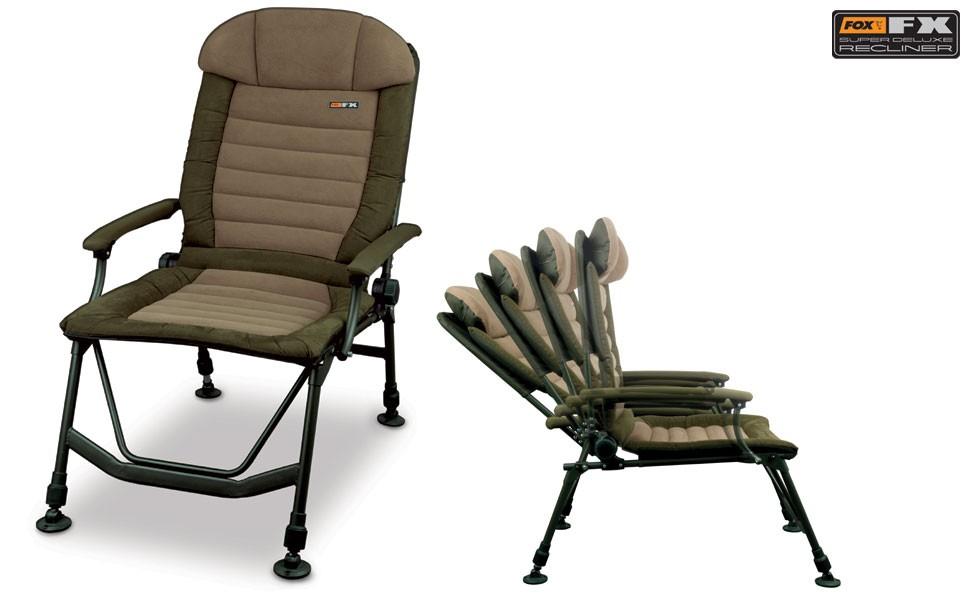 Fox Fx Stoel : Fox fx super deluxe recliner u homeleigh garden centres