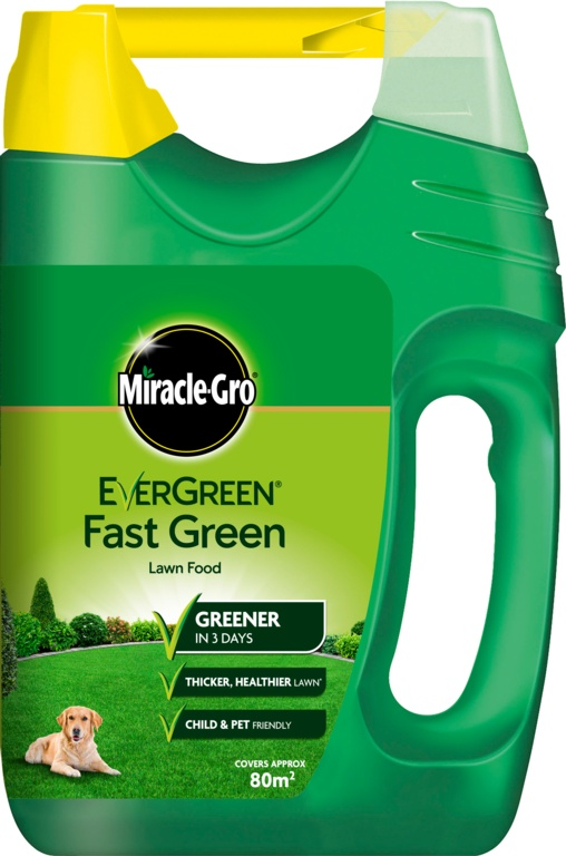 Miracle-Gro Fast Green Lawn Feed Spreader 100M2