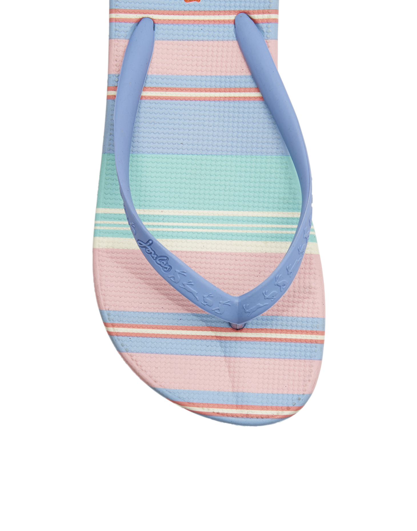 100% quality quarantee new authentic quality first Joules Flip Flops Womens - Pink Stripe