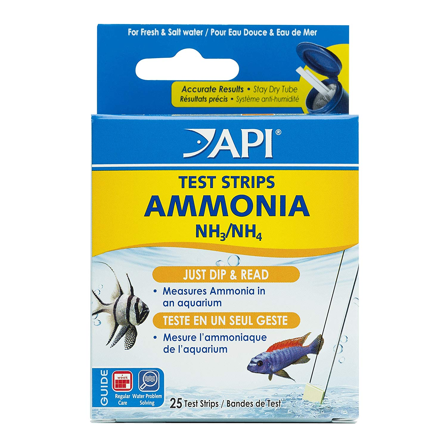 Api Ammonia Test Strips