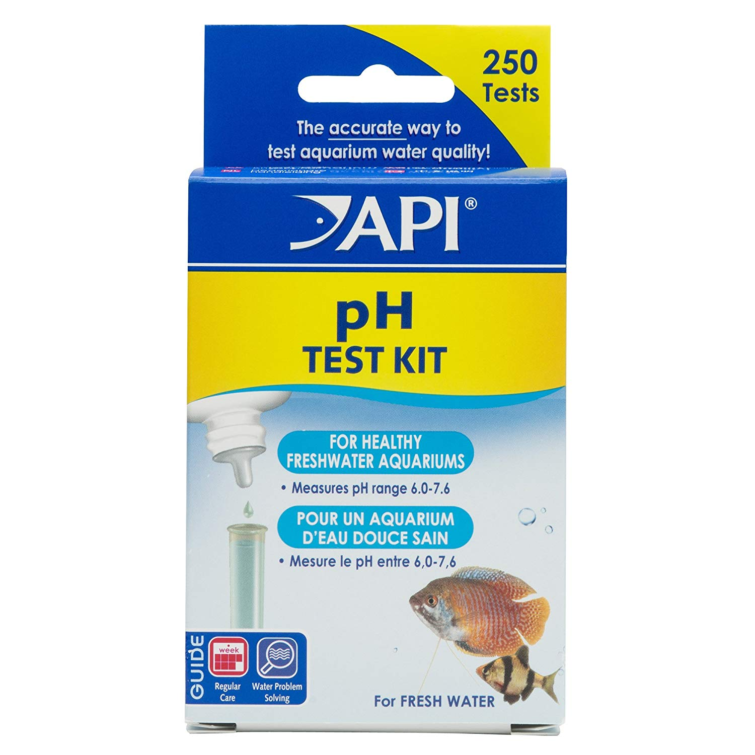 Api Ph Test Kit 250 Tests
