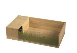 Viva Vivexotic Tortoise Table (Flatpack)