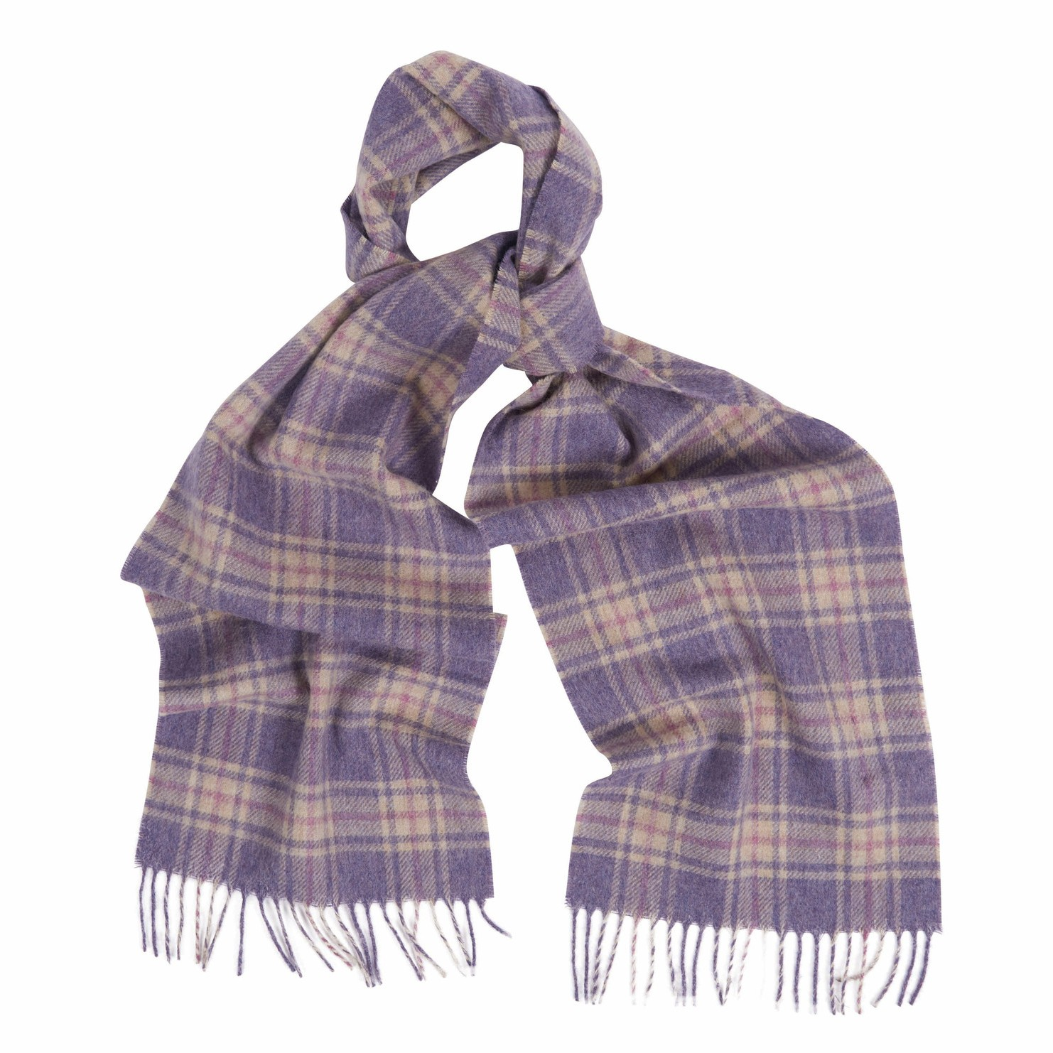 Barbour Brent Scarf - Purple