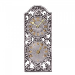 """Smart Garden Westminster Wall Clock & Thermometer 11"""""""