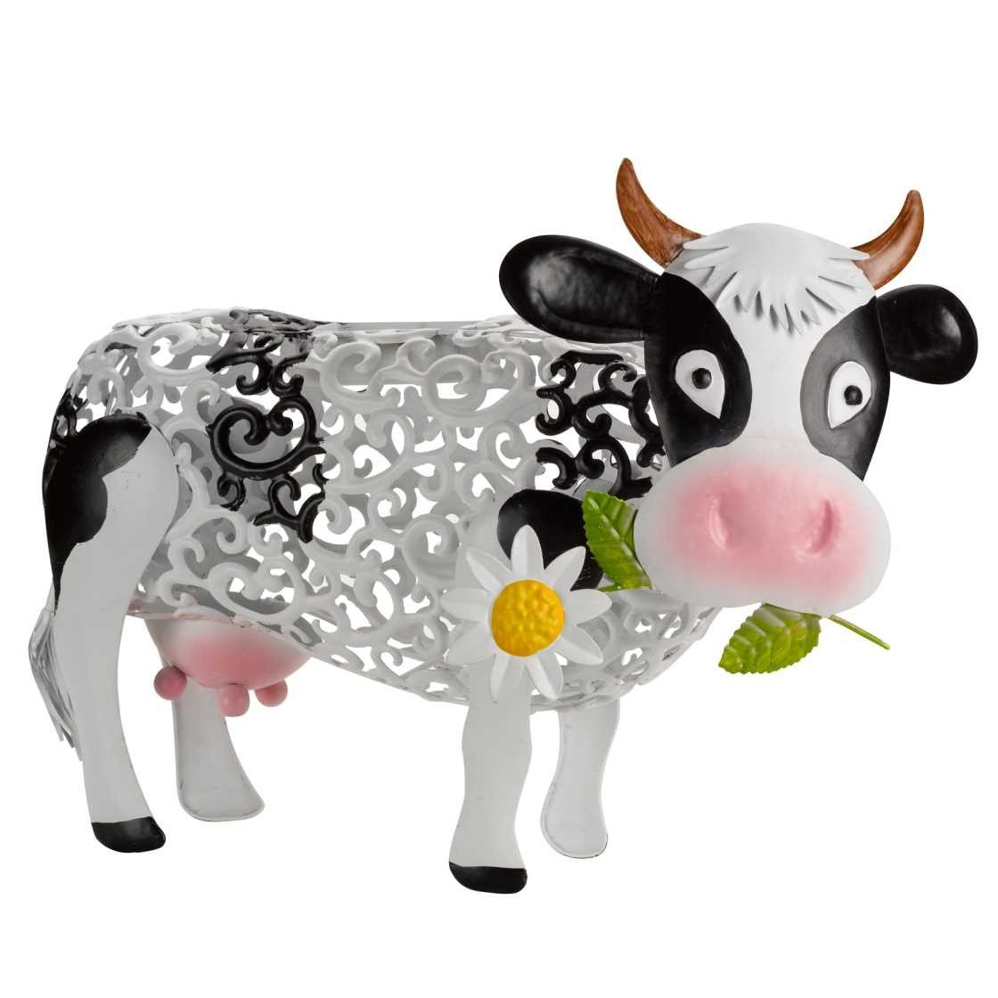 Smart Garden Metal Silhouette Solar Light - Daisy Cow