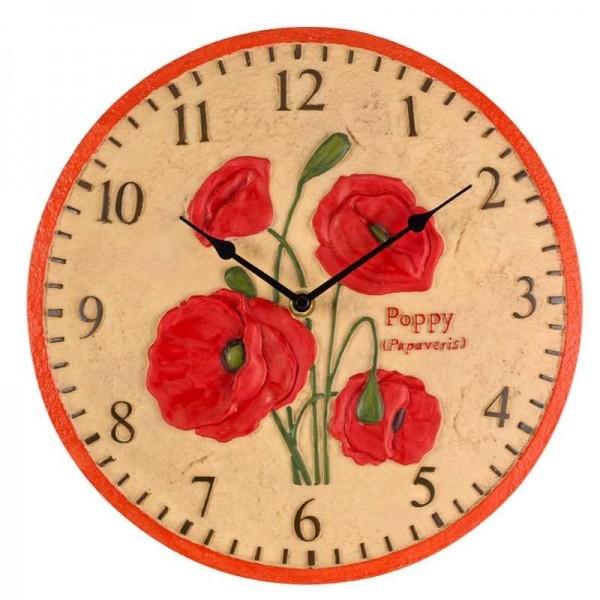 Smart Garden Poppy Wall Clock 12