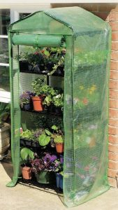 Gardman 4 Tier Growhouse With Reinforced Cover 08679SG