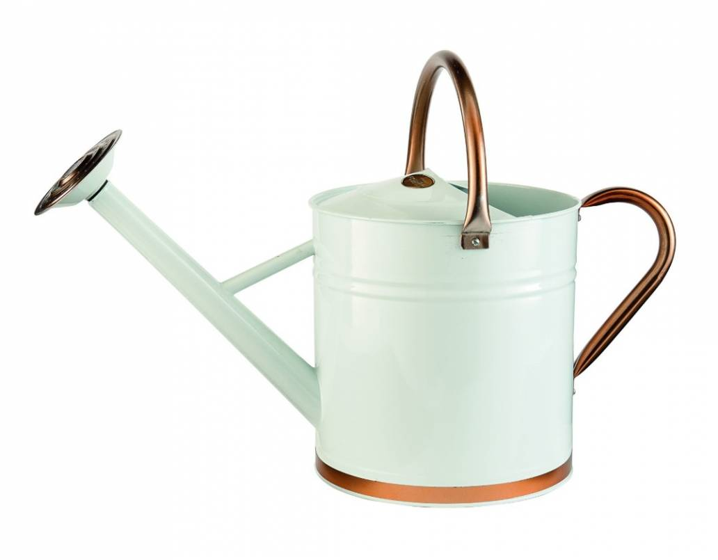 Gardman 9ltr (2 Gal) Copper & Cream Watering Can
