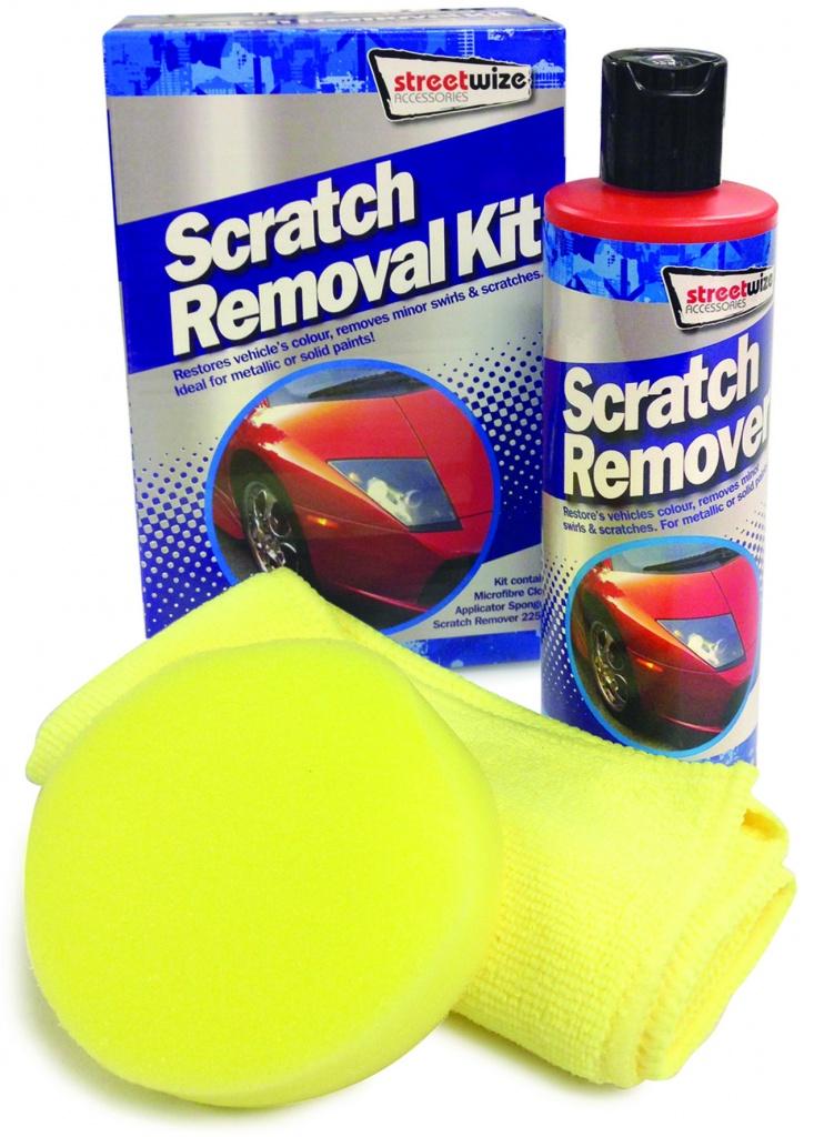 Streetwize Scratch Removal Kit 3 Piece