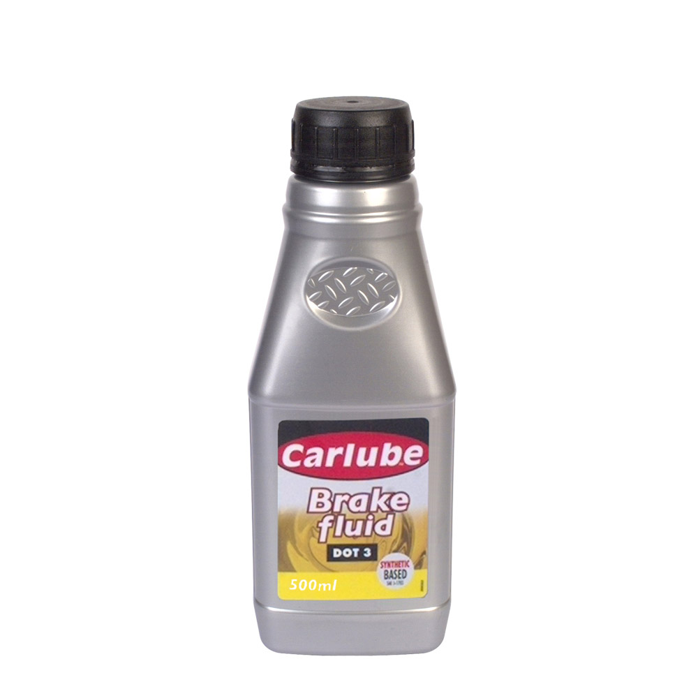 Carlube DOT 3 Brake Fluid 500ml