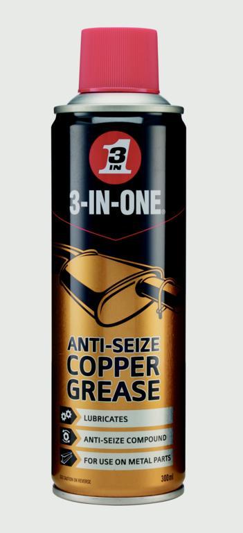3-IN-ONE Anti-Seize Copper 300ml
