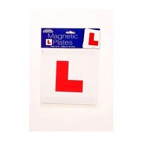 Car Pride Magnetic 'L' Plates 2 Pack