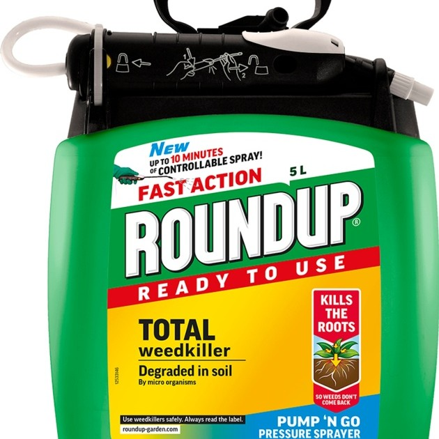 Roundup Fast Action Pump N Go 5L