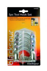 Blackspur 5pc Tool Hook Set (HA101)