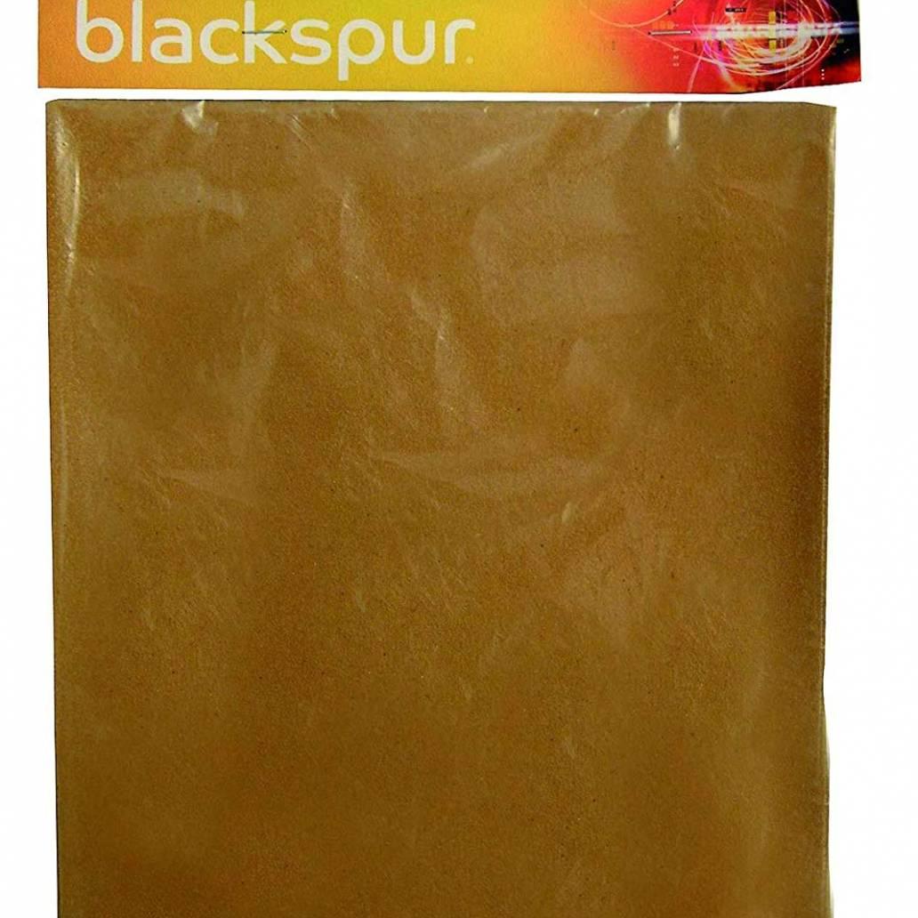 Blackspur 10 Pc Glass Paper Set - Assorted Grits