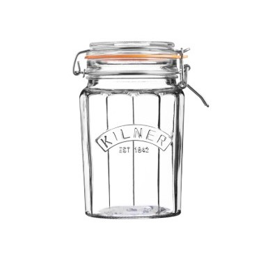 Kilner Facetted Clip Top Jar 0.95 ltr
