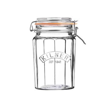 Kilner Facetted Clip Top Jar 0.95 ltr