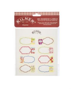 Kilner 24 Piece Pantry Label Set