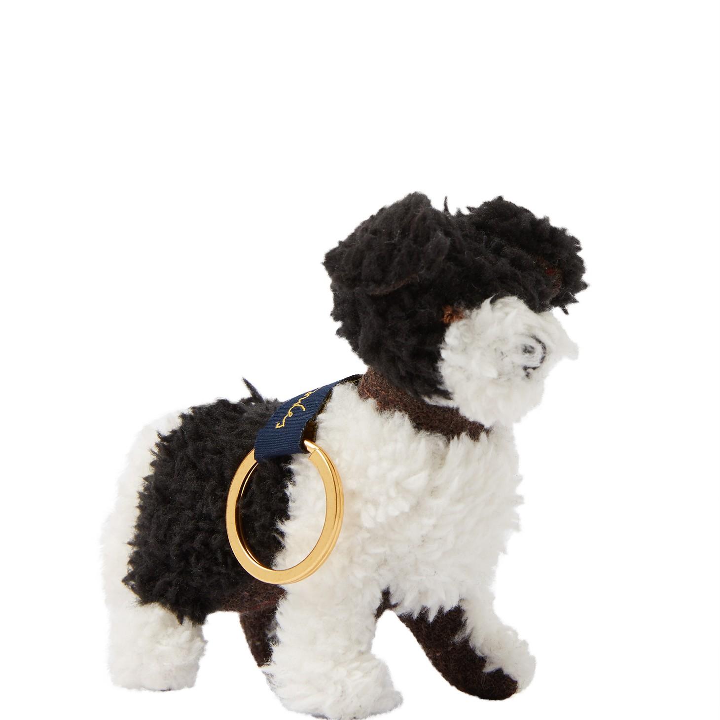 Joules Tweedle Keyring - Dog