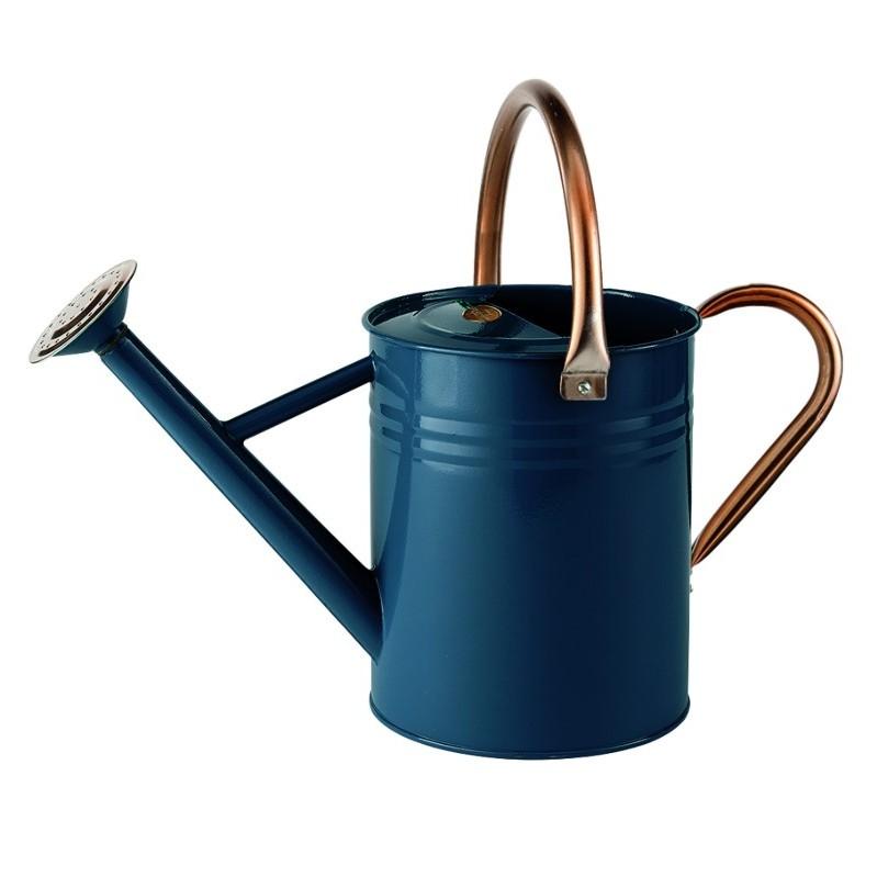 Gardman 4.5ltr (1 Gal) Metal Watering Can Heritage Blue