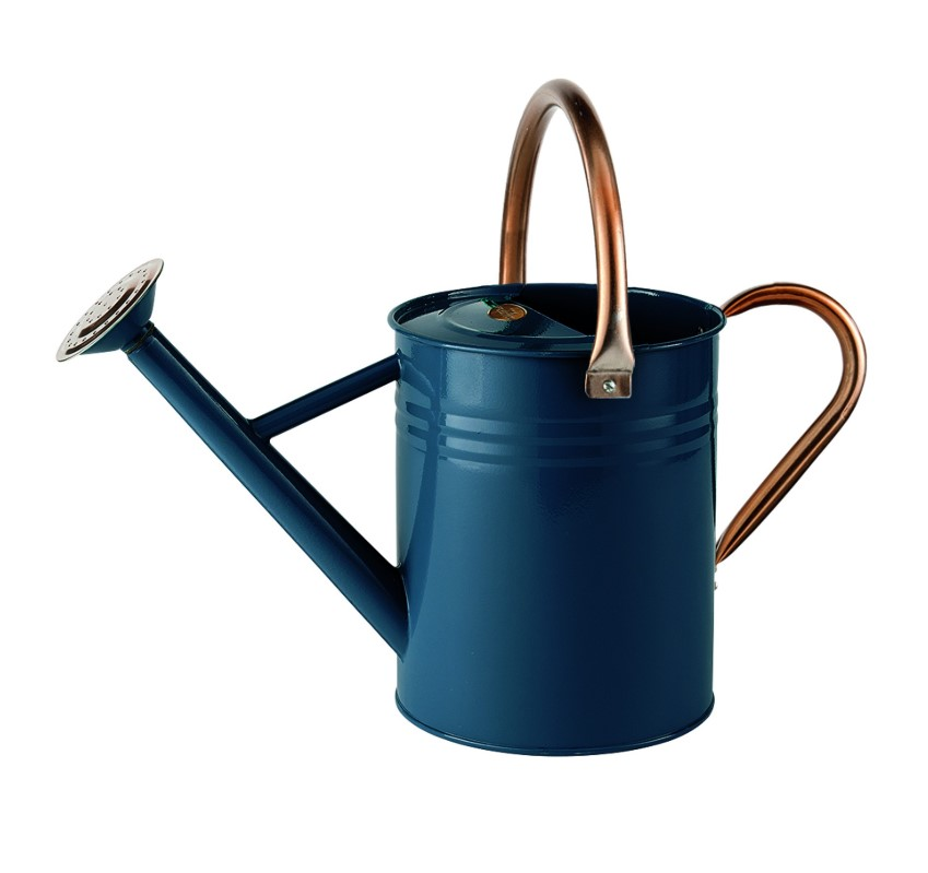 Gardman 4.5ltr (1 Gal) Metal Watering Can Heritage Blue