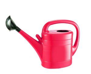 Gardman 10ltr Plastic Watering Can - Red