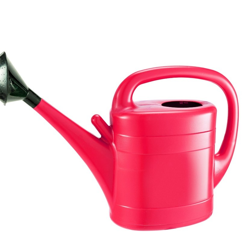 Gardman 10ltr Plastic Watering Can - Red