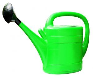 Gardman 10ltr Plastic Watering Can - Green