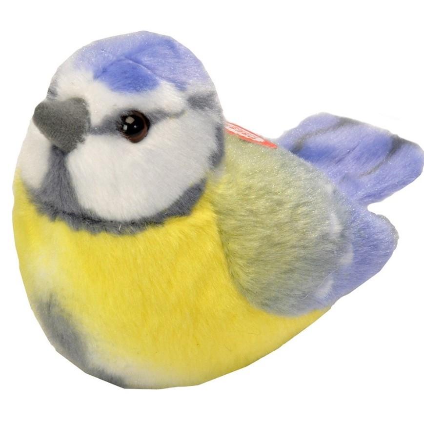 RSPB II Singing  Soft Toy - Blue Tit