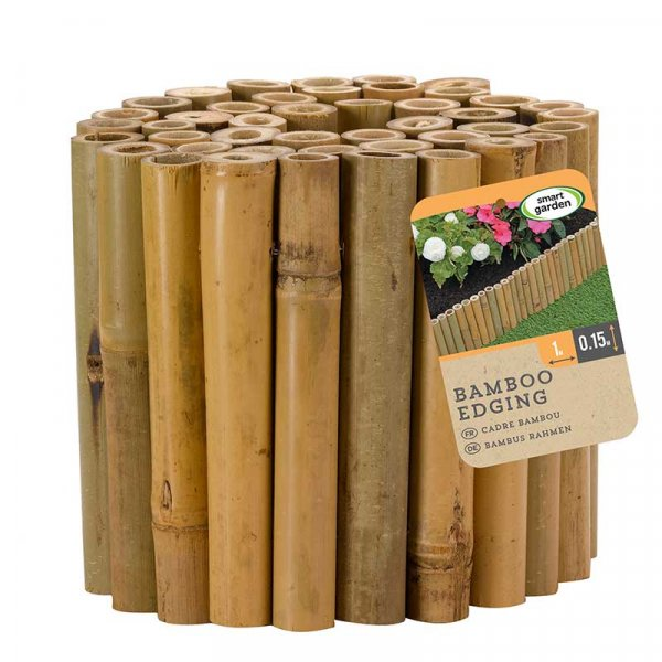 Smart Garden Bamboo Edging 15cm x 1m