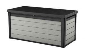 Keter Denali 150 Deck Box - Black/Grey