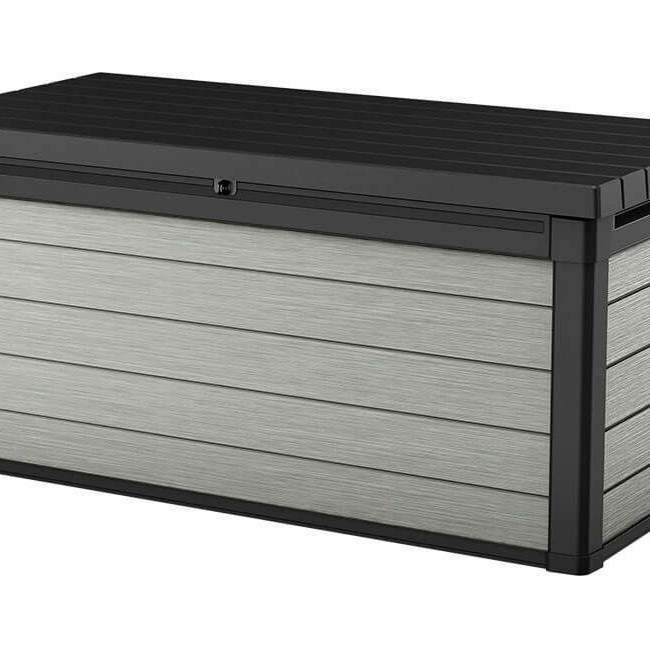 Keter Denali 150 Deck Box - Black/Grey