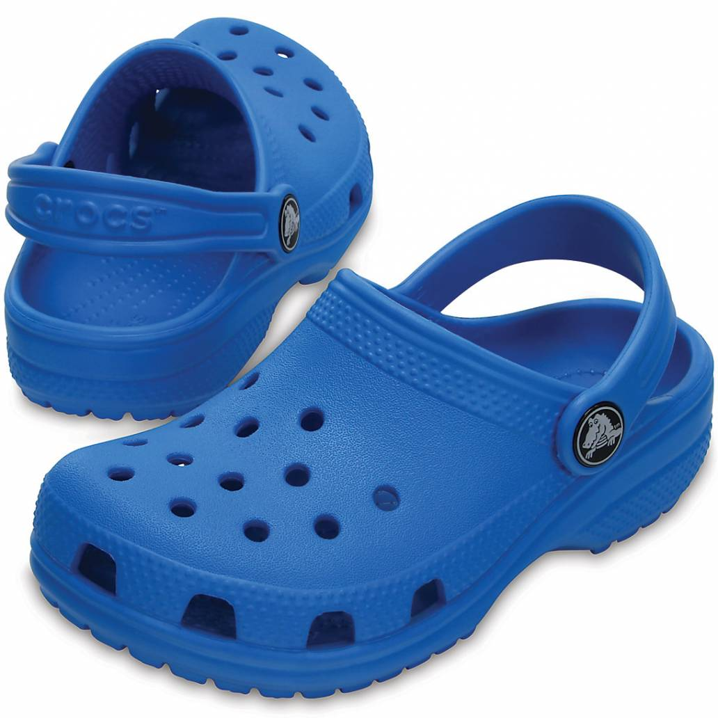 Crocs Classic Kids Clogs - Ocean - UK 11