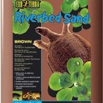 Exo Terra Riverbed Sand  Brown 4.5kg