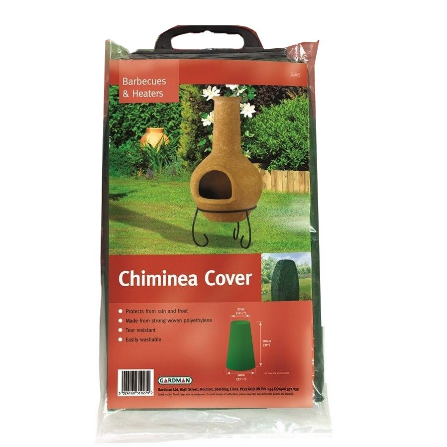 Gardman Chimenea Cover Green 31027