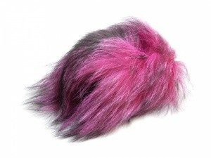 Foxy Tails Fly Tying - Finn Raccoon Tail Hair - Yellow