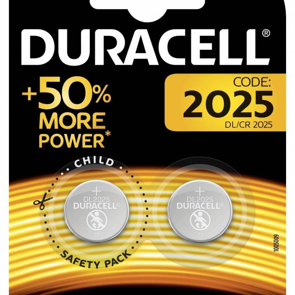 Duracell 2025 Coin Lithium