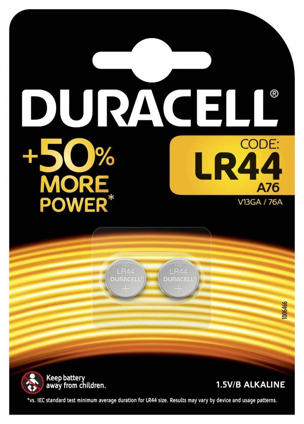 Duracell LR44 2Pk