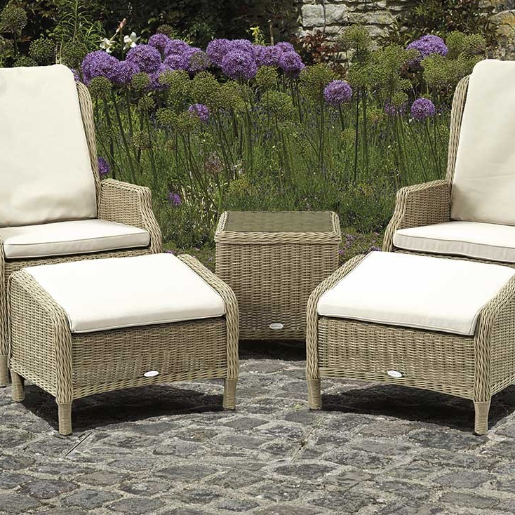 Chaffinch - Recliner Set with 2 Footstools and Side Table