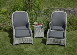 Pheasant - Recliner Set with 2 Footstools & High Coffee Table
