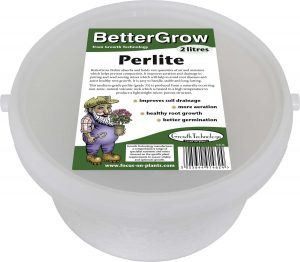 Growth Technology Bettergrow - Perlite Tub - 2 Litres