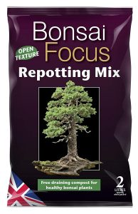 Growth Technology Bonsai Focus Repotting Mix Bag - 2 Litres