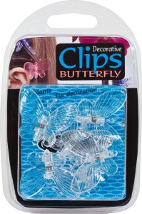 Growth Technology Butterfly Clips - Clear 6