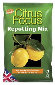 Growth Technology Citrus Focus Repotting Mix Bag - 2 Litres