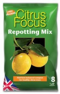 Growth Technology Citrus Focus Repotting Mix Bag - 8 Litres