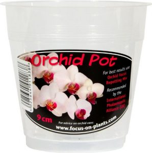 Growth Technology Clear Orchid Pot 9 cm