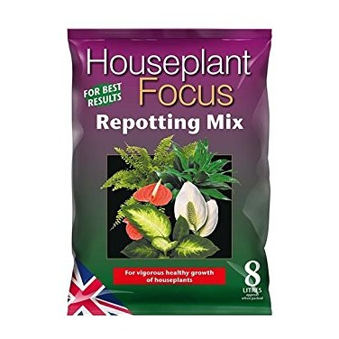 Growth Technology Houseplant Focus Repotting Mix Bag - 8 Litres