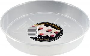Growth Technology Orchid Pot Saucer For 9-15 cm