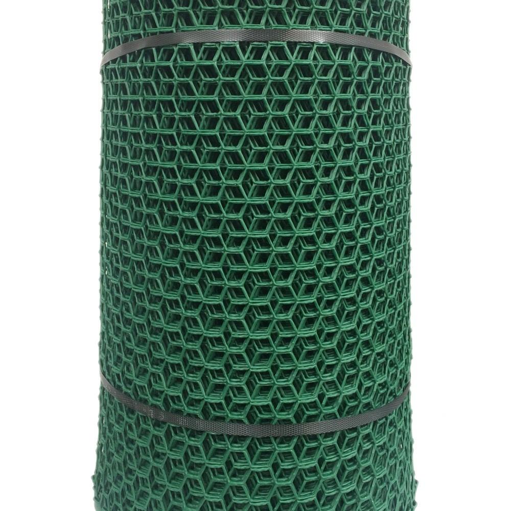 Netlon Plastic Netting 20m x 0.5m Hex-Mesh - Green